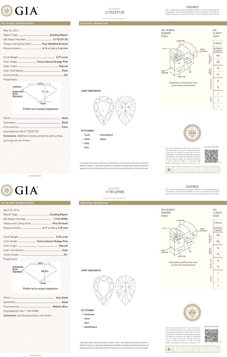 Natural fancy pink diamonds yellow diamonds colored diamond and gia xflitez Image collections