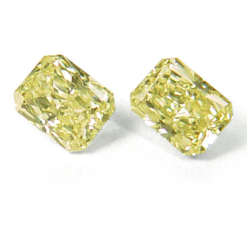 View 0.87 ct. Radiant Fancy Intense Yellow