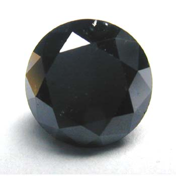 View 2.5 ct. Round Black (Quantities Available)