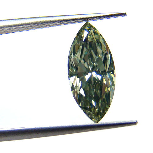 View 1.59 ct. Marquise Fancy Gray Green