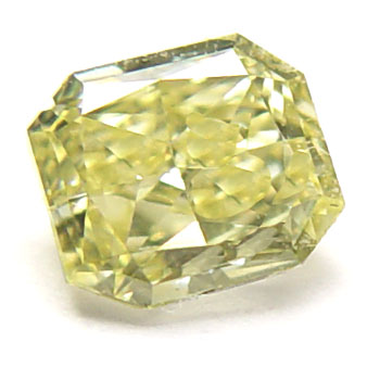 View 0.51 ct. Radiant Fancy Yellow