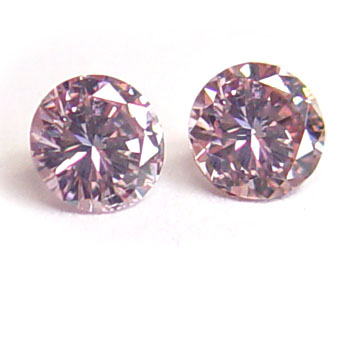 View 0.59 ct. Round Fancy Pink
