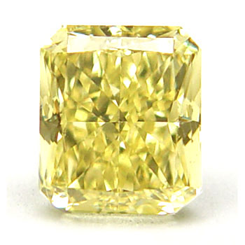 View 0.95 ct. Radiant Fancy Yellow