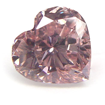 View 0.62 ct. Heart Shape Fancy Pink