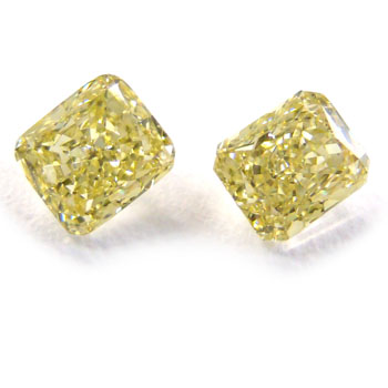 View 1.3 ct. Radiant Fancy Yellow