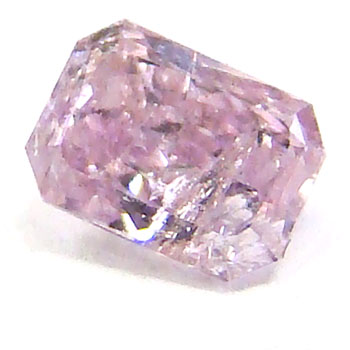 View 0.26 ct. Radiant Fancy Purplish Pink
