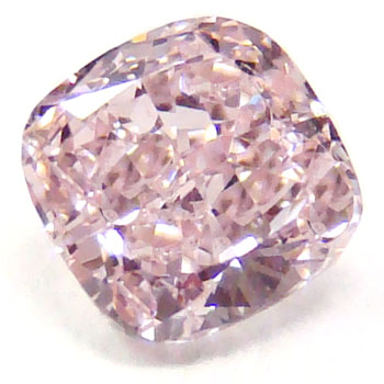 View 0.74 ct. Cushion Fancy Pink