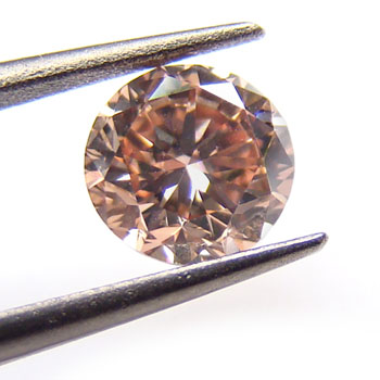 View 0.79 ct. Round Fancy Pink-Brown