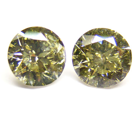 View 1.75 ct. Round Chameleon (Pair)