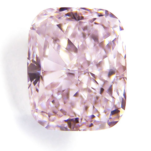 View 1.44 ct. Cushion Fancy Purple-Pink (Type IIa - Flawless)