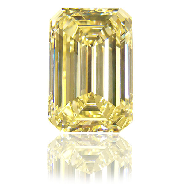 cut yellow precious un emerald gem heated sapphire cushion