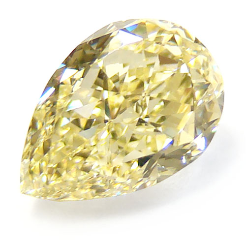 View 1.1 ct. Pear Shape Fancy Yellow (Flawless)