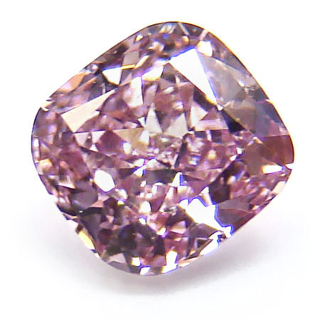 View 0.5 ct. Cushion Fancy Intense Purple-Pink