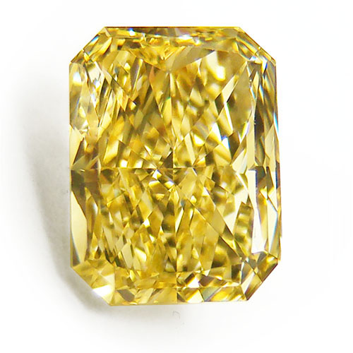 View 2.16 ct. Radiant Fancy Intense Yellow (Flawless)