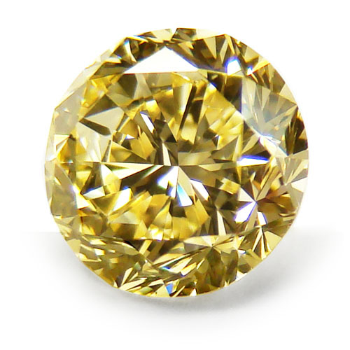 View 1.84 ct. Round Fancy Intense Yellow