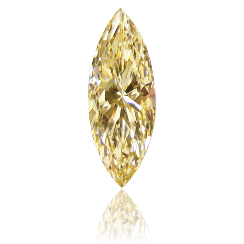 View 1.41 ct. Marquise Fancy Yellow (Flawless)