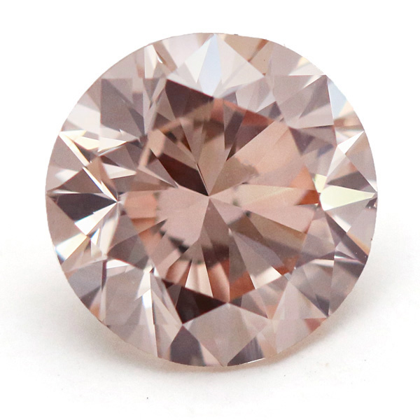 View 1.64 ct. Round Fancy Light Pinkish Brown