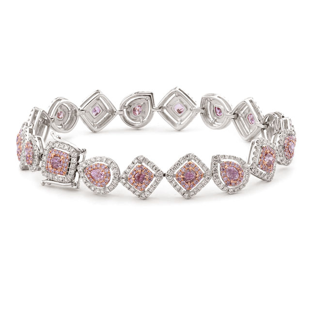 View 6.13 ct. Other Fancy Pink (Bracelet)