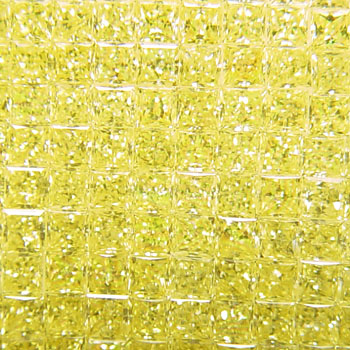 View 0 ct. Princess Cut Fancy Intense Yellow (quantities available)